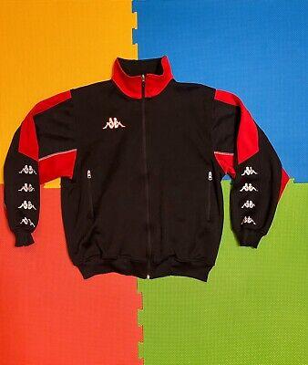 New NWT Vintage KAPPA Italy Warm Up Track Soccer Football Jacket  Size Small