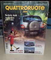 Quattroruote Giugno 2000 Renault Megane Scenic 2.0rx4 Ford Fiesta 1.8 Tdi Ghia - renault - ebay.it