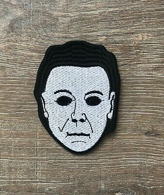 Michael Myers Patch Aufnäher Bügelbild Halloween Maske Horror - Michael Myers Halloween Maske