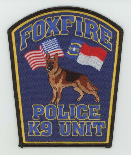 Foxfire Village Police K-9 North Carolina