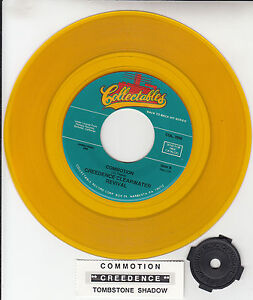 CREEDENCE-CLEARWATER-REVIVAL-Commotion-YELLOW-VINYL-CCR-7-45-rpm-record-NEW
