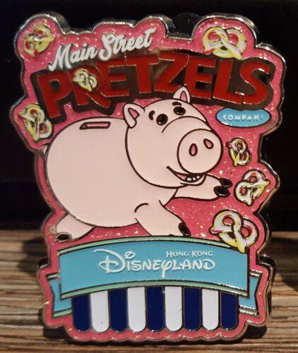 2018 Toy Story Hamm Main Street Popcorn & Pretzel Pin Hong Kong Disneyland