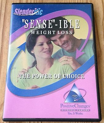 Slenderific Positive Changes Hypnosis Sense-ible Weight Loss CD Used