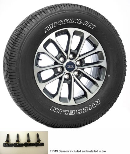 "New Set Ford F150 Takeoff 18"" Wheels Michelin Tires 2004-18 FX2 FX4 Lariat TPMS"