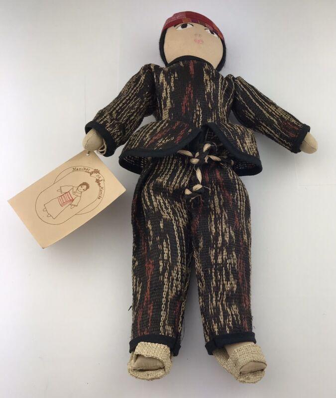 Manikas NG Manila T'boli Doll Folk Southwestern Mindanao Philippines Ethnic Doll