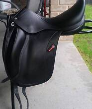Equipe Olympia  Black Dressage Saddle 18inch Gillieston Heights Maitland Area Preview