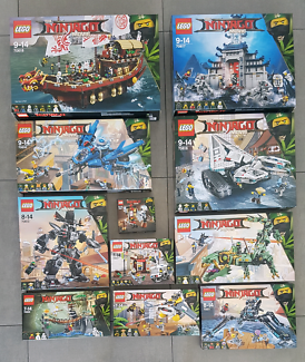 Lego The NINJAGO Movie x 11 Sets. 70618+70617+70616+70612 + MORE