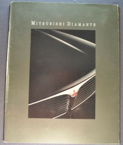 1992 Mitsubishi Diamante 20pg Catalog Sales Brochure LS Excellent Original 92