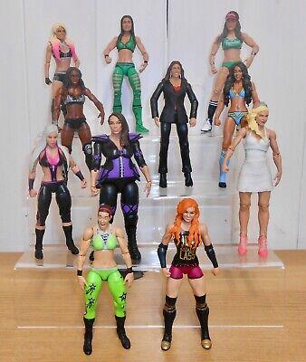 Set of 4 WWE wrestling figures inc. Becky Lynch, Lana, Nia Jax & Alexa Bliss