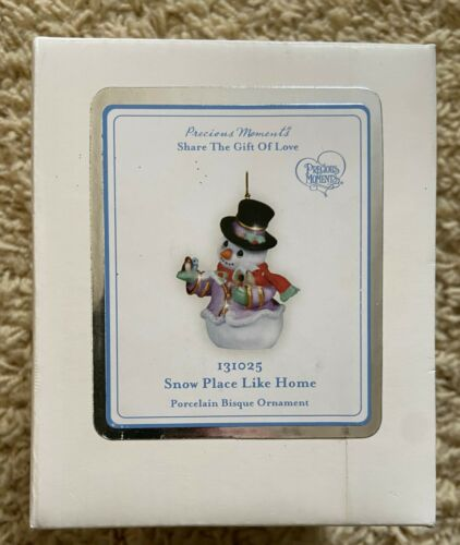 Precious Moments 131025 Snow Place Like Home Ornament from 2012 NEW