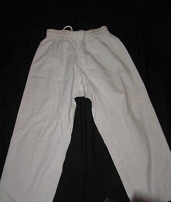 Karate Gi Uniform Pants -  White Size 4