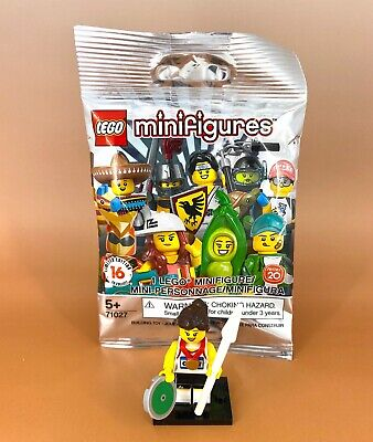 Lego Minifigures Series 20 ATHLETE Decathlon w/Medals 71027 SEALED