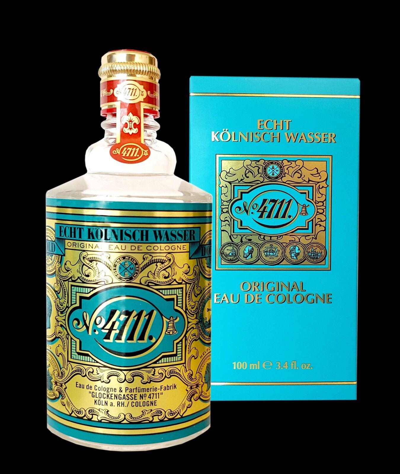 4711 Echt Kölnisch Wasser 100 ml  neu &Original Eau de Cologne für Herren