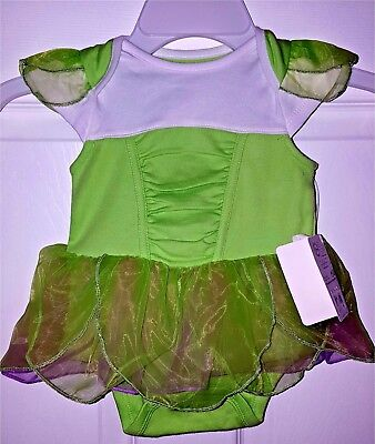 Disney Parks Tinkerbell Costume Soft Wings One Piece for Baby ~ size  24 m 2 yrs