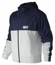 New Balance Men's Nb Athletics Windbreaker Navy