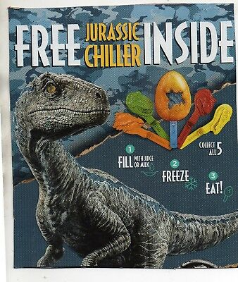 Jurassic Cereal Chiller Kellogg's yellow/blue