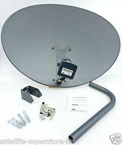 Sky satellite dish zone 2 with quad lnb 4 sky freesat or hotbird 19 2 astra ebay - Satellite astra 19 2 ...