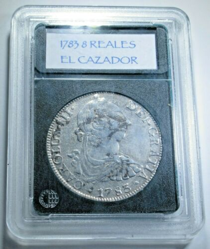 1783 El Cazador Shipwreck 8 Reales Antique 1700