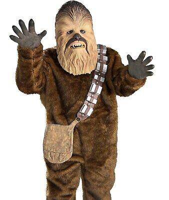 Child Deluxe Chewbacca Costume Star Wars Boys Girls Kids Chewbaca