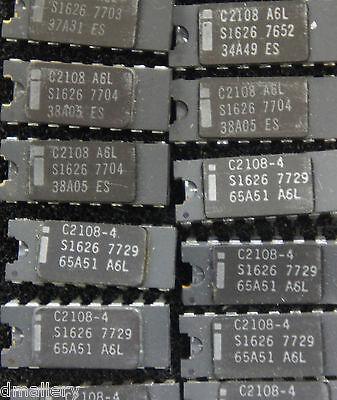 Intel C2108-4 Cerdip16  Qty 1 C2108  Ship In Usa Tomorrow