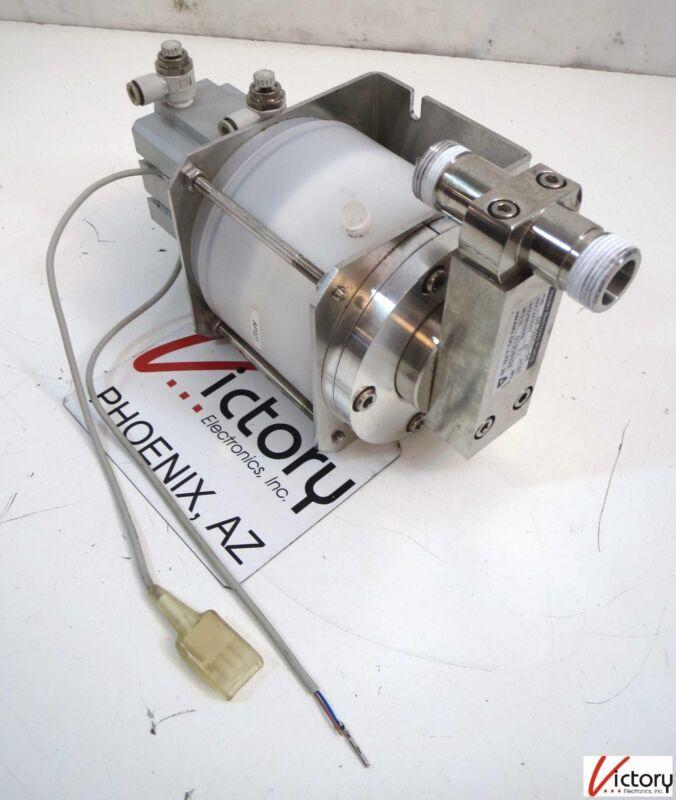 Used Iwaki Bellows Pump Model: SB-5SV-L-04, Max Press. 0.1 MPa, MFG# 07808836