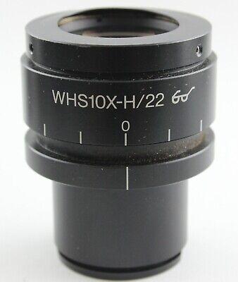 Olympus Microscope Eyepiece Whs 10x-h22 Bx Bx41 Ax Ix