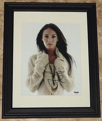 STUNNING! Megan Fox Signed Autographed Framed 8x10 Photo PSA COA! FLASH SALE!](Cheap 8x10 Frames)