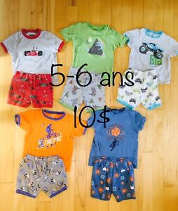 Lot pyjamas 5-6 ans