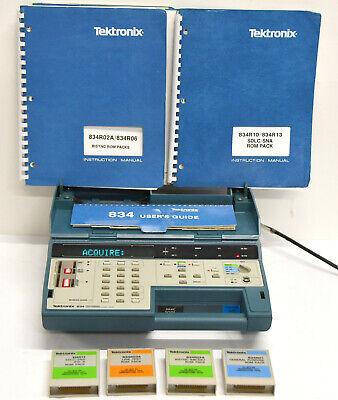 Tektronix 834 Programmable Data Communications Tester Wrom Pack