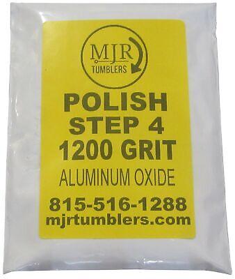 2 lb Super Polish 1200X Aluminum Oxide Grit Rock Tumbling Media for Lapidary use