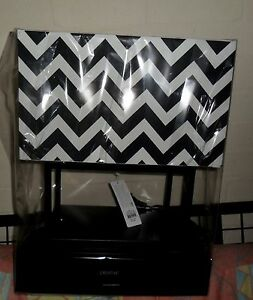 Black & White Oblong Shape Table Lamp Daceyville Botany Bay Area Preview