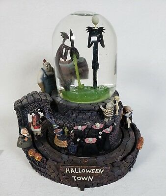 Disney Nightmare Snow Globe Song This is Halloween Music Box  - Halloween Songs This Is Halloween