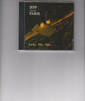 jeff paris- lucky this time cd 1993