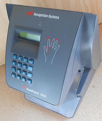 New Hand Punch 3000 Biometric Time Clock W Backup Batt 1 Year Warranty