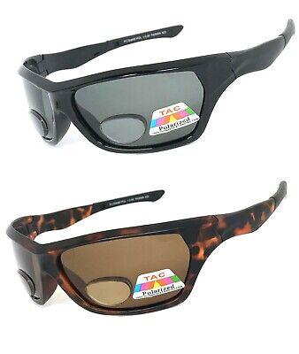 Polarisiert Bifokale Lese Brille Sonnenbrille RG137 Sport Wrap um UV400