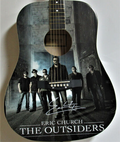 Eric Church Autographed Guitar
