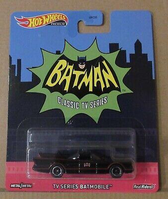 Hot Wheels Retro Entertainment Series Batmobile Real Riders
