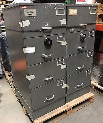 Safe Heavy Duty Mosler GSA 4 Drawer File Cabinet Combination Lock Nice
