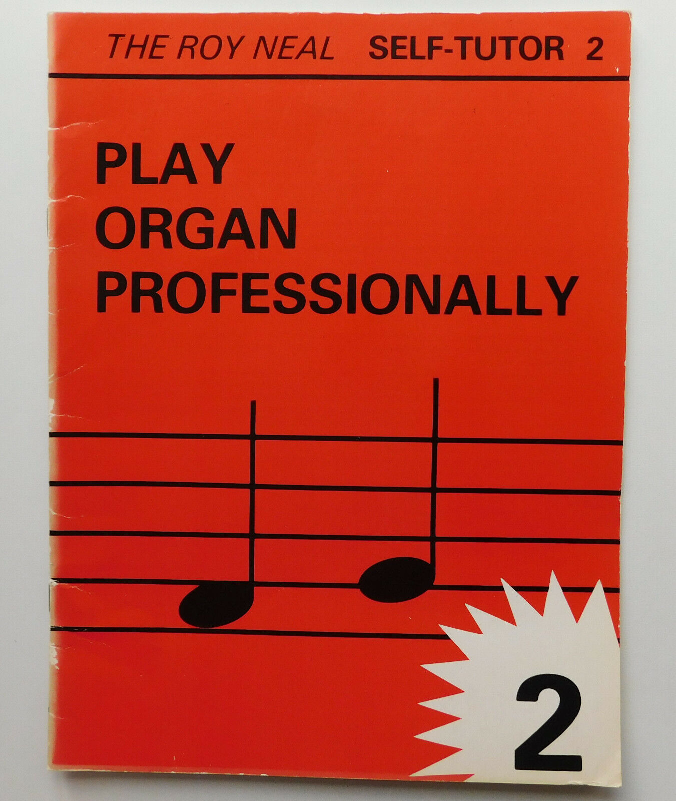 Play Organ Professionally Roy Neal Self Tutor 1980s leaners music book 2