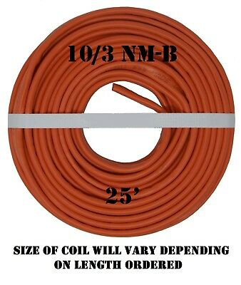 103 Nm-b X 25 Southwire Romex Electrical Cable
