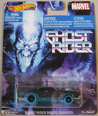 Hot Wheels 2020 Retro Entertainment GHOST RIDER DODGE CHARGER black & blue