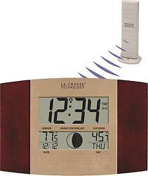 WS-8117U-IT-C La Crosse Technology Atomic Digital Wall Clock with TX37U-IT NIB