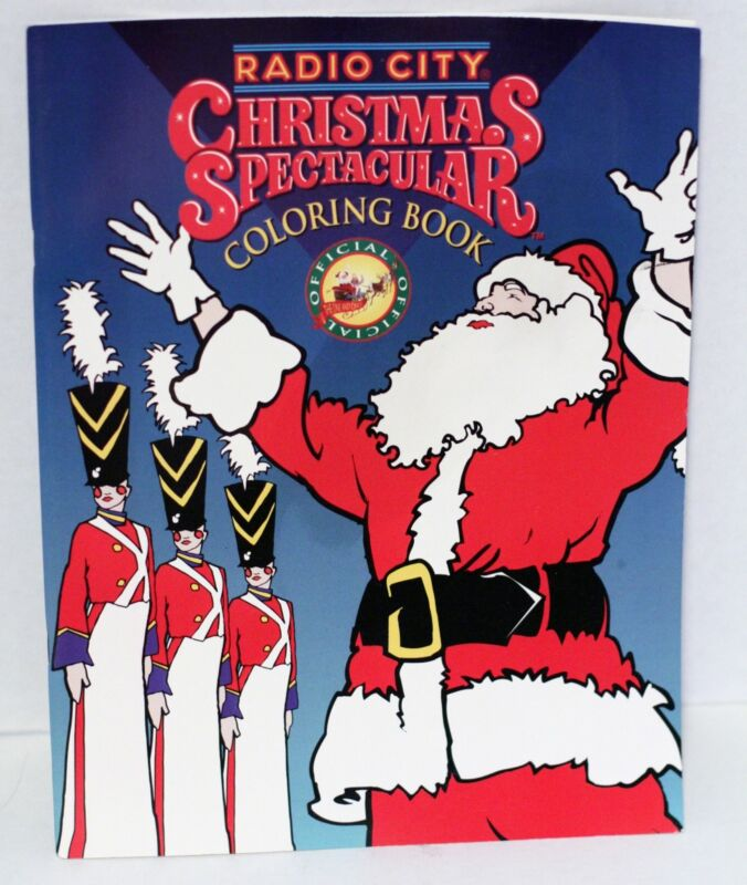 Radio City Christmas Spectacular Coloring Book NEW