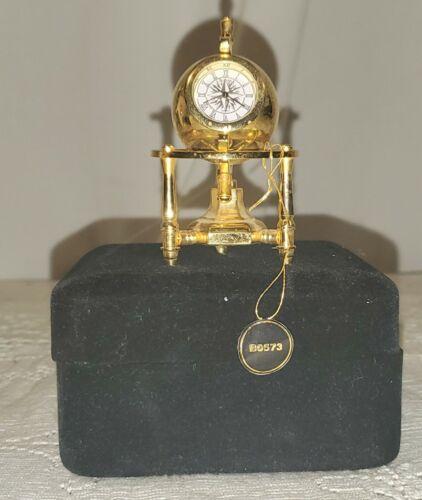 Bulova Mini-Boutique Planetarium Miniature B0573 Collectible Clock