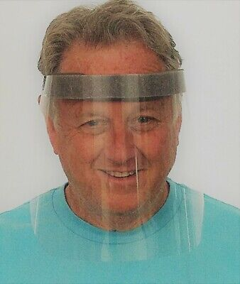 Full Face Shield Safety Mask Protector Clear Plastic 10,000 ct