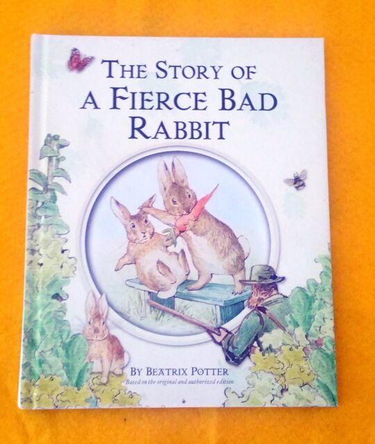 The Story of a Fierce Bad Rabbit by Beatrix Potter FREE AUS POST Hardback, 2002