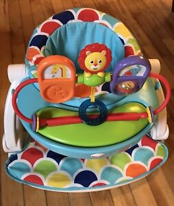 Fisherprice sit me up chair