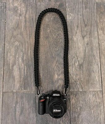 Paracord Camera Neck Strap - Choose Your Color!