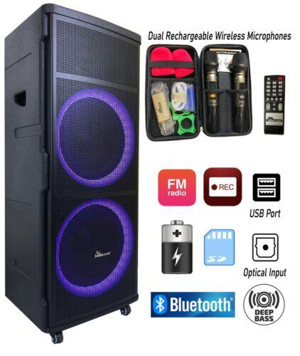 IdolMain IPS-DJ06 Bluetooth Rechargeable Party Speaker Optical In - Loa Keo Keo