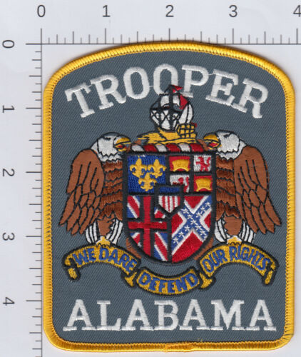Alabama Trooper patch. See photo.